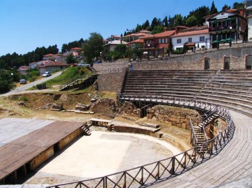 amphiteater kuno macedonia